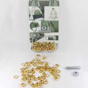 5.1 mm Eyelet and Washer Brass Repair Kit