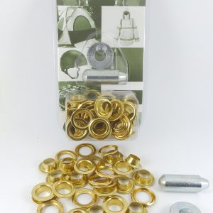Eyelet and Washer Brass